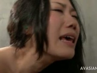 Extreme Ass To Mouth Asian Threesome