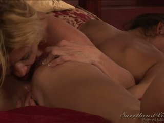 Stephanie Swift In Her First Lesbian Scene With Ginger Lynn