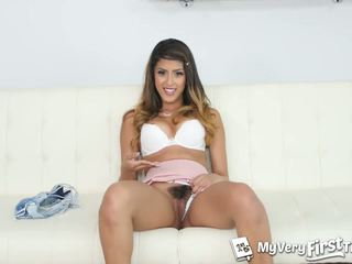 MyVeryFirstTime - Sophia Leone likes 2 dicks