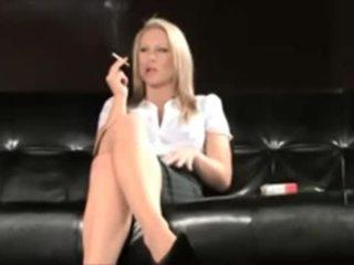 kouření, vyhublý, erotický