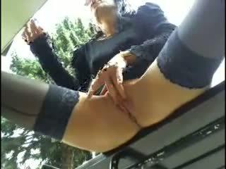 Marry masturbates in public close encounter
