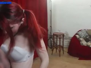 TEEN cutie dances and gets wild on a big dick