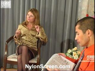 যৌন মোজা মহান, nylon slips and sex বিনামূল্যে, দপ্তরে sex and nylon stockings পূর্ণ