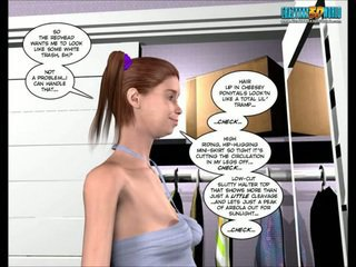 3D Comic: The Chaperone. Episode 22