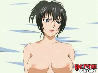 hentai, tied up blonde babe
