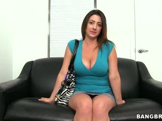 big tits, casting, facial