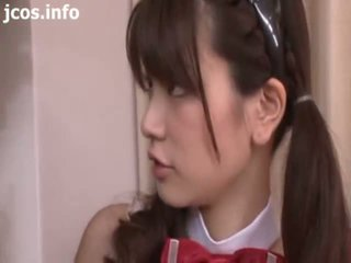 Asijské pohlaví servant dospívající - japonská