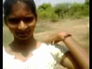 Indian Teen Village Girl Sucking Cock Outdoors