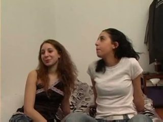 tits, brunette, student