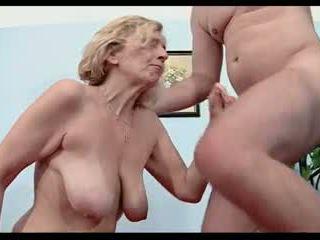 금발, 성숙, 섹스하고 싶은 중년 여성