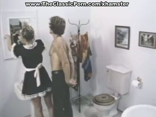 Klasyczne porno sceny w a łazienka