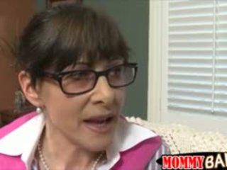 Terror Stepmom Alexandra Silk Threesome With Teen Couple