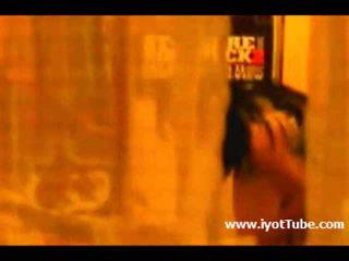 Asian After Shower window Peep