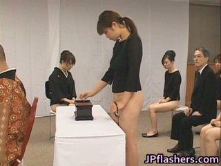 Asian Girls Go To Church Half Nude