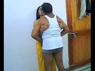 India pareja enjoying romantic
