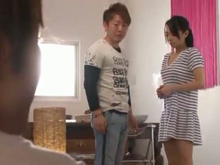 Bigtitted nymph sora aoi has viņai moth un mound fucked!