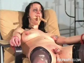 Bizzarro female umiliazione e disordinato degradation