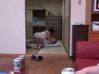 Rina ooshima appreciates multiposition xxx en la living salle