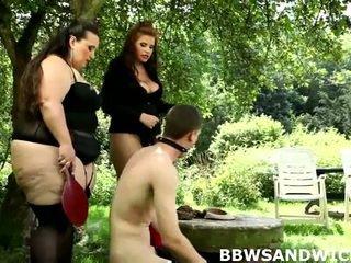 BBWs Marta And Jitka Love To Dominate Men Sexually