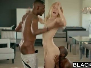 BLACKED Alexa Grace First Interracial Threesome <span class=duration>- 12 min</span>