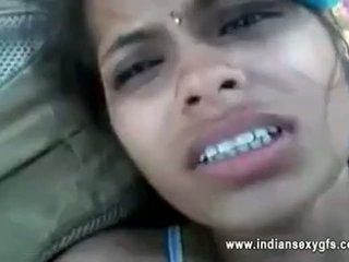 Orissa indický přítelkyně fucked podle boyfriend v lesní s audio