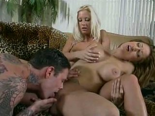 Krystal Steal and Sky Lopez Threesome