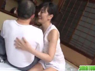 Vyzreté chic v japonské has sex