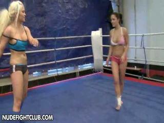 NudeFightClub Presents Liza Del Sierra Vs. Jenna Lovely