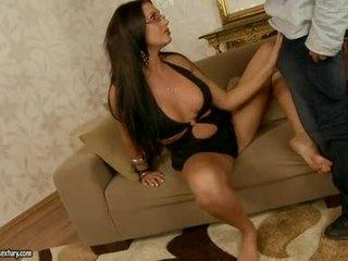 Sexy Seductive Emma Booty Fills Her Mo...