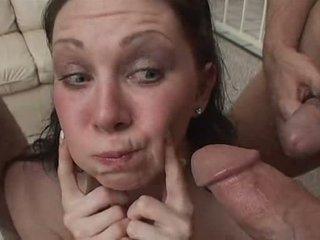 Swallowing cum Video