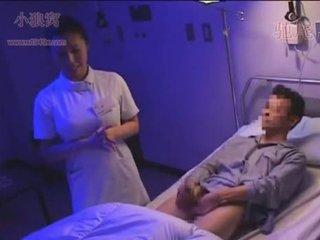 Dandy-078-cfnm đêm y tá sees erect tinh ranh và jer