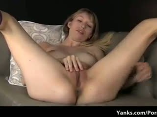 Blonde with Big Tits and a Big Pussy