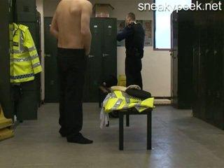 Rookie polis menangkap telanjang!