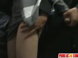 Yuma Asami Busty Sucks Shlongs In Bus