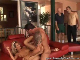 fucking, swingers, husband