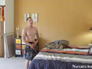 brünett, hardcore sex, nice ass