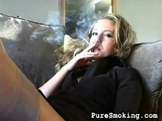 Refined tart christie gets turned onto καπνίζοντας