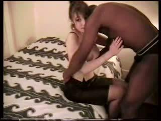 Amateur femme interracial