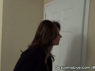 Maduros milf deauxma chamada lésbica acompanhante para vir caralho dela!
