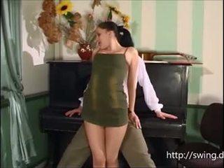Klaver õpetaja fucks õpilane