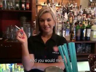 Bartender rihanna samuel seksi varten käteinen