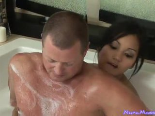 An Unusual Massage After Taking A Tub Together