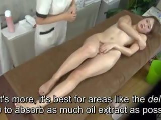Subtitled enf cfnf jaapani lesbid clitoris massaaž clinic