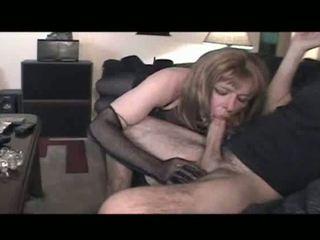 oral sex, crossdresser, undertøy