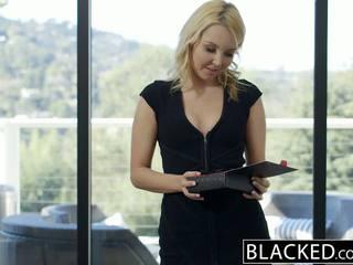 Blacked pen blond hotwife aaliyah kjærlighet og henne svart lover