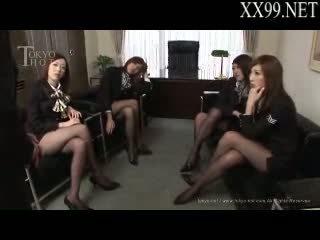 sexe de groupe, asiatique