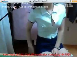 Gadis thailan menunjukkan