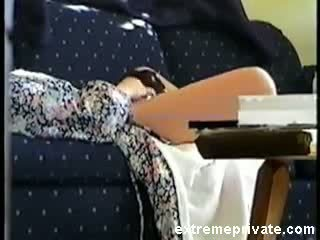 Couch solo my mom caught on spy cam Video