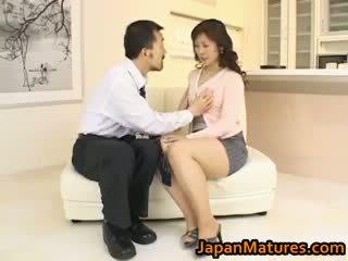 japonec, skupinový sex, velká prsa