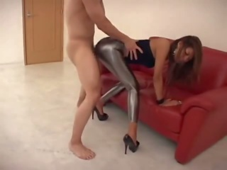 CFNM Leggings Blowjob and Fuck, Free Blowjob Fuck Porn Video